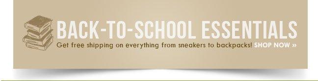 Shop Back-to-School Essentials