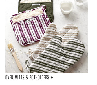 OVEN MITTS & POTHOLDERS