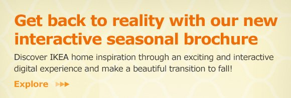 Go back to reality with our new interactive seasonal catalog