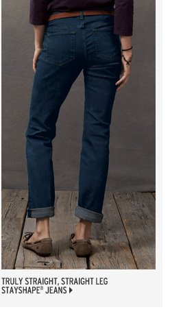 Truly Straight Jeans Straight Leg - StayShape®