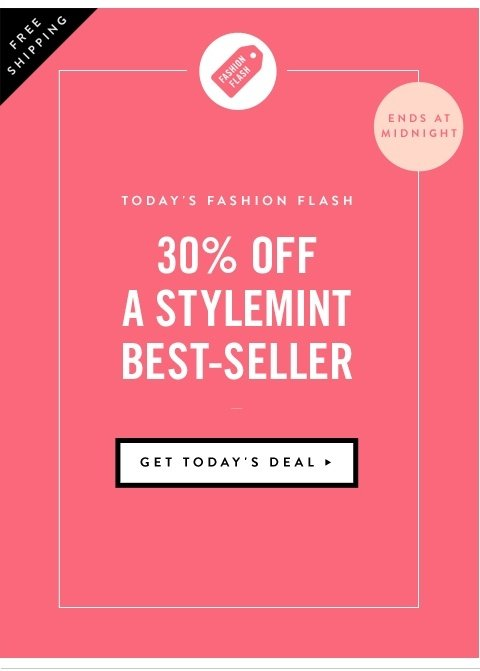 30% Off A StyleMint Best-Seller