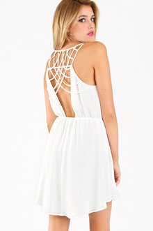 CLASS IN LATTICE DRESS 46