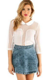 LANI LACED BLOUSE 39