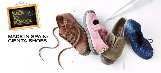 MADE IN SPAIN: CIENTA SHOES, Event Ends August 11, 9:00 AM PT >