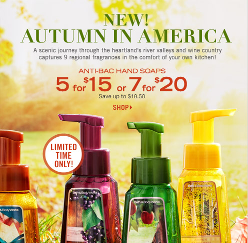 Anti-Bac Hand Soaps – 5 for $15