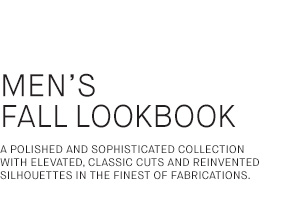 The Men's Fall Lookbook