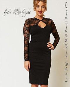 Lydia Bright Kendall Midi Pencil Dress
