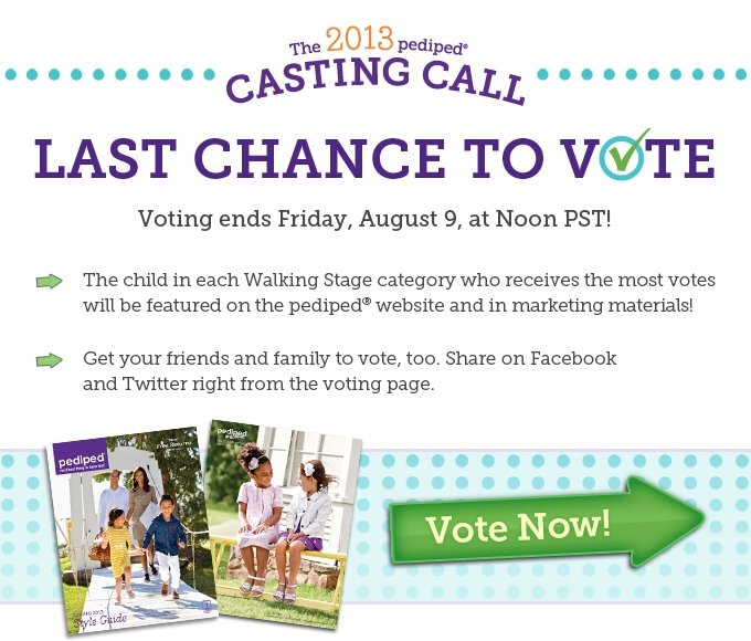 Last chance to vote