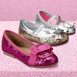 Sparkle Party: Girls' Shoes