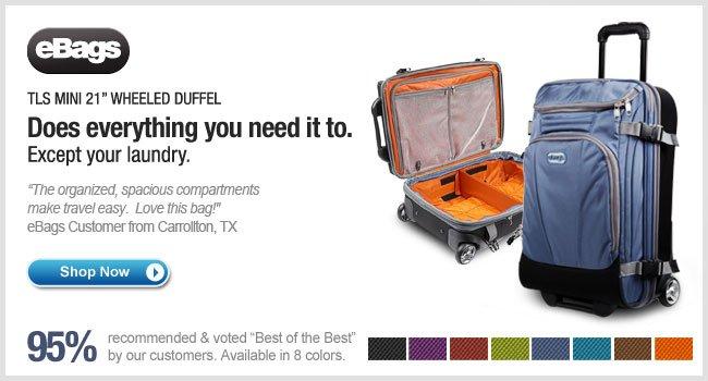 eBags Mother Lode TLS Mini Wheeled Duffel - Shop Now