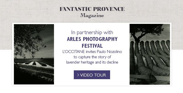 Fantastic Provence Magazine. In partnership with Arles Photography Festival L'Occitane invites Paulo Nozolino to capture the story of lavender heritage and its decline. Video Tour