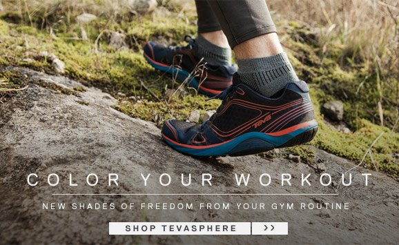 Color your workout - New shades of freedom from your gym routine - Shop Tevasphere