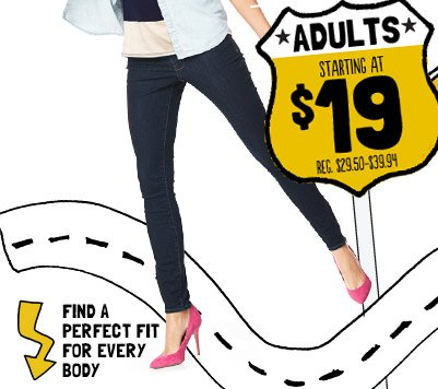 ADULTS STARTING AT $19 | FIND A PERFECT FIT FOR EVERY BODY
