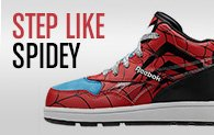 STEP LIKE SPIDEY