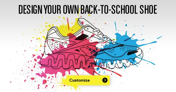 DESIGN YOUR OWN BACK–TO–SCHOOL SHOE CUSTOMIZE»