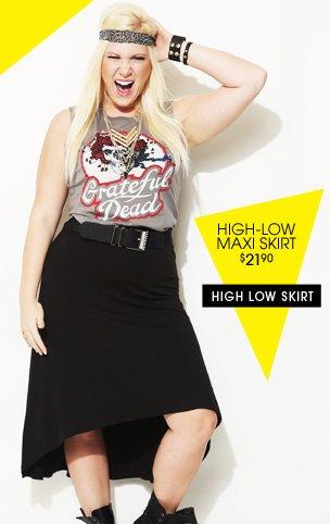 Shop High Low Skirt