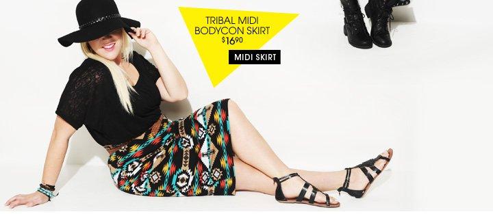 Shop Midi Skirt