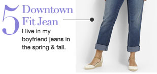 Downtown Fit Jean