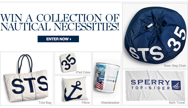 WIN A COLLECTION OF NAUTICAL NECESSITIES | ENTER NOW >