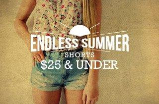 Shorts $25 & Under
