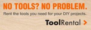 No Tools? No Problem.