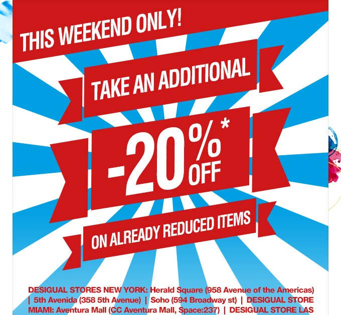 Today only! Take an additional -20% off