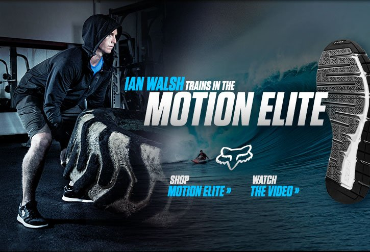 Ian Walsh Trains In The Motion Elite
