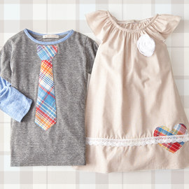 Glad in Plaid: Kids' Apparel
