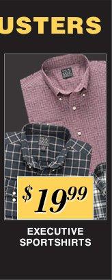 $19.99 USD - Executive Sportshirts