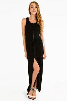 MAXINE ZIPPED  MAXI DRESS 35