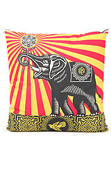 The Peace Elephant Pillow