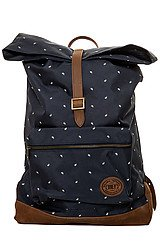 The Ballast Roll Top Backpack in Navy