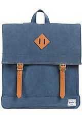 The Survey Backpack in Washed Navy Canvas