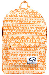 The Classic Backpack in Chevron Butterscotch