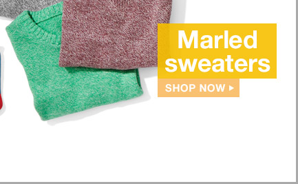 Marled sweaters | SHOP NOW