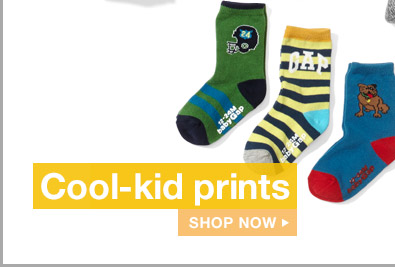 Cool-kid prints | SHOP NOW