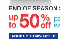 END OF SEASON SALE | up to 50% off patio + extra 10% off | SHOP UP TO 50% OFF