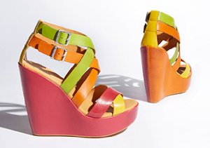 Most Coveted Sandals: Wedges & Heels