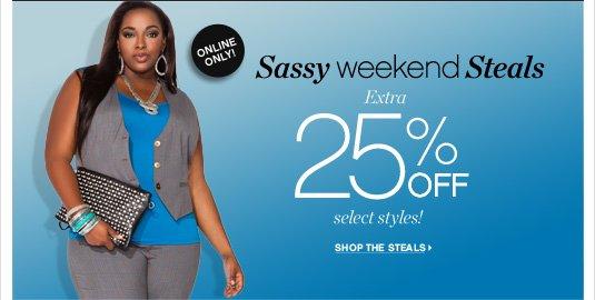 Sassy Weekend Steals!