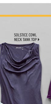 Travex® Solstice Cowl-Neck Tank Top