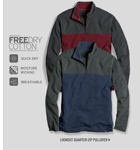 Travex® Lookout Quarter-Zip Pullover