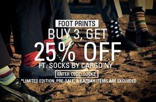 Ft. Socks by Cargo NY
