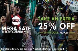 24 Hour MEGA Sale: Bargain Prices