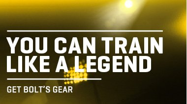 YOU CAN TRAIN LIKE A LEGEND