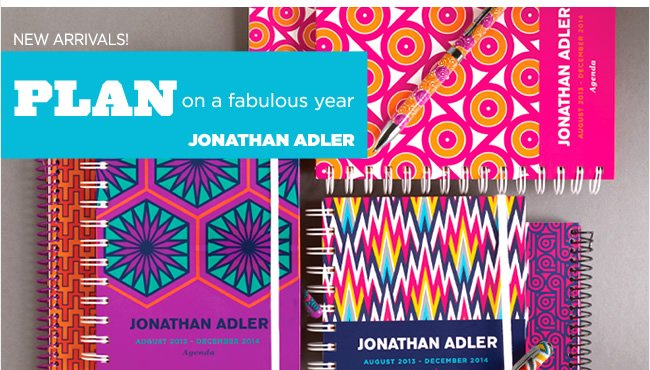 Plan on a fabulous year! New arrivals from Jonathan Adler in PAPYRUS stores and online at www.papyrusonline.com