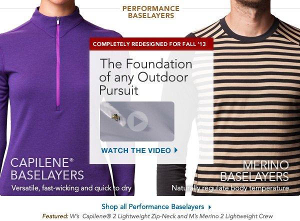 Patagonia Performance Layers