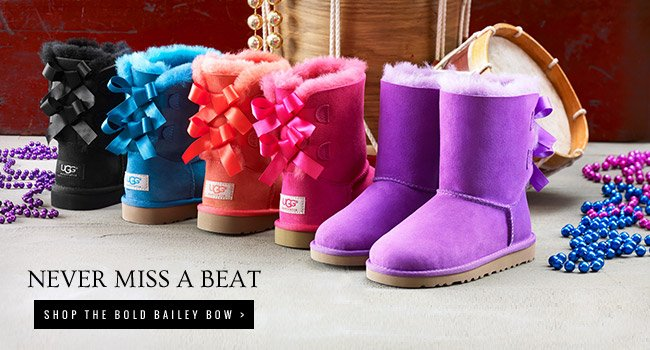 Never miss a beat - Shop the Bold Bailey Bow