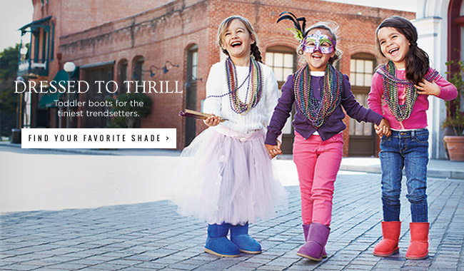 Dressed to Thrill - Toddler boots for the tiniest trendsetters - Find your favorite shade