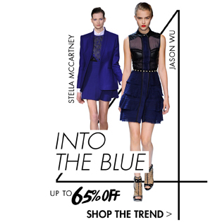 INTO THE BLUE UP TO 65% OFF