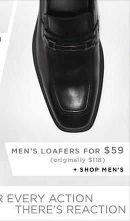 MEN'S LOAFERS FOR $59 + SHOP MEN'S